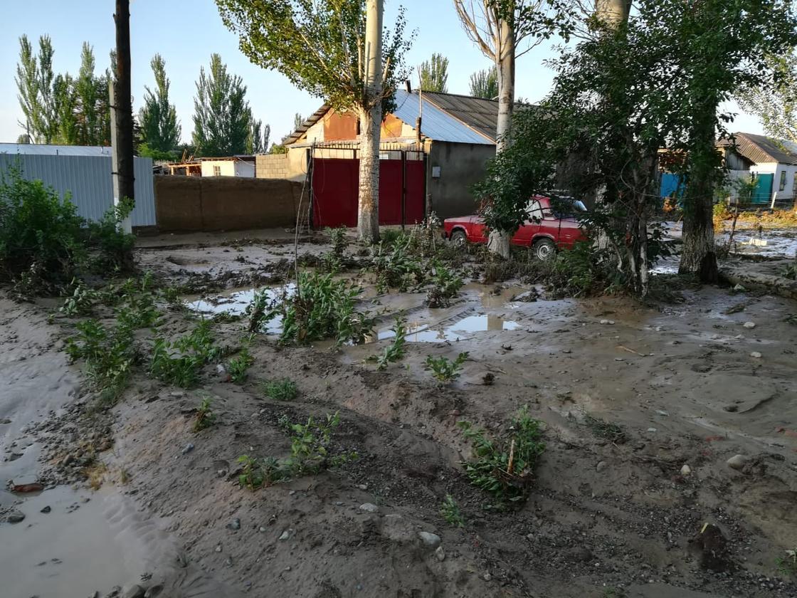 Алматы облысында жүзден аса үйді жауын суы шайып кетті (фото)