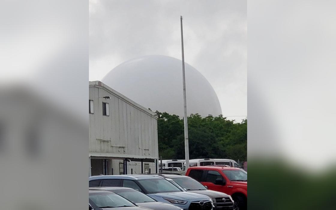Над городом за ночь появился огромный купол, однако паниковать не стоит и НЛО тут ни при чём