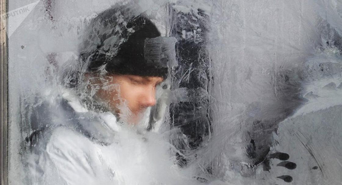 Мороз до -40: штормовое предупреждение объявили в Астане и ряде областей