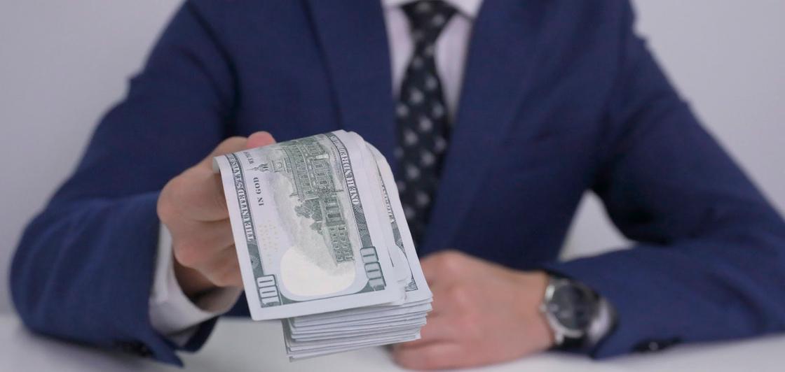 Курс доллара упал до 382 тенге на бирже