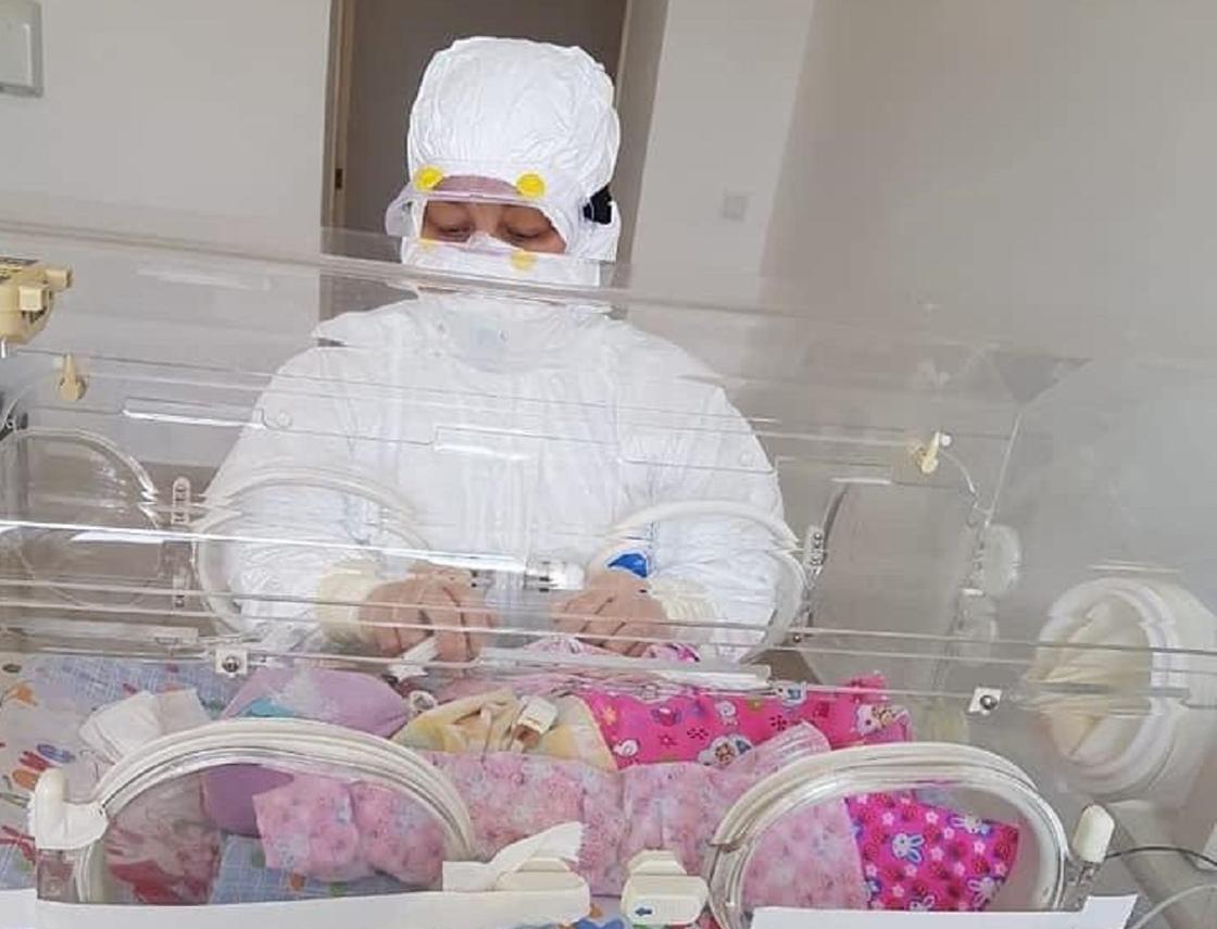 Зараженная коронавирусом женщина родила в Кызылординской области