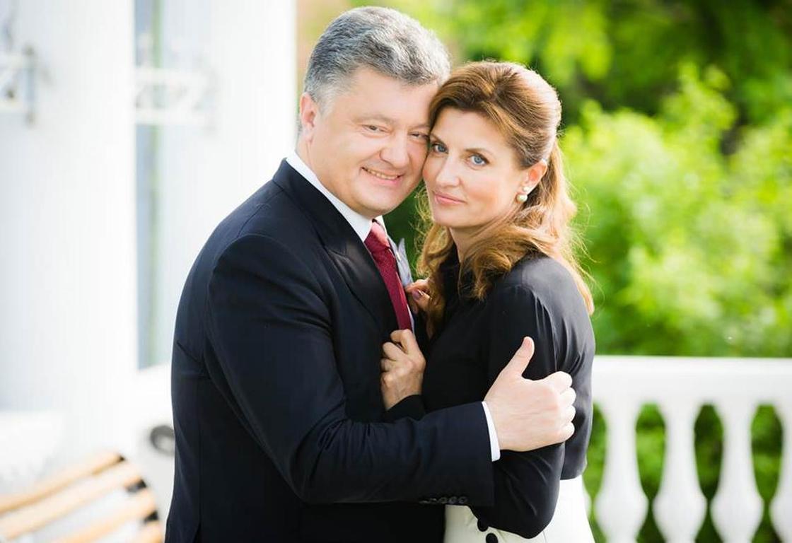 Украина президенті Порошенко Семейдің қызына үйленген бе?