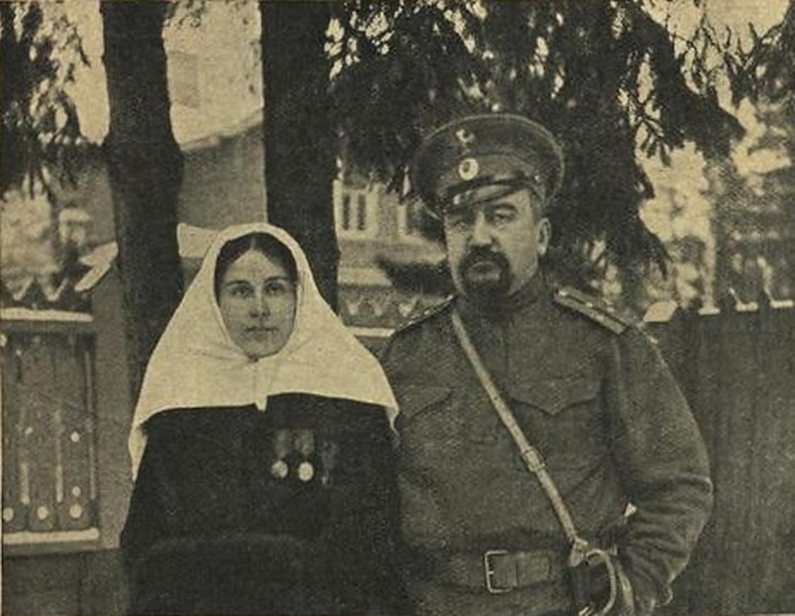 Александр Куприн со второй женой