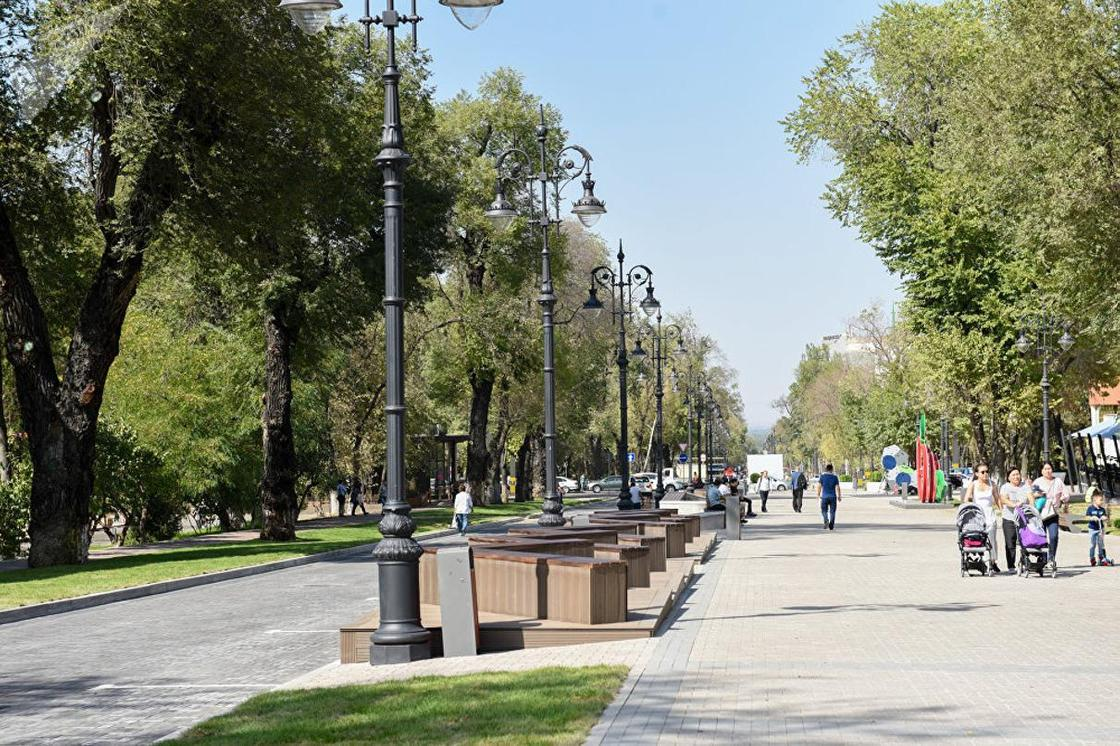 Байбек: В каждом районе Алматы появится своя улица Панфилова