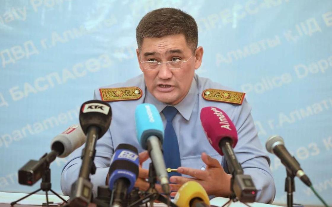 Күдебаев Алматы облысында коронавирус жұқтырған полицейлер туралы айтты