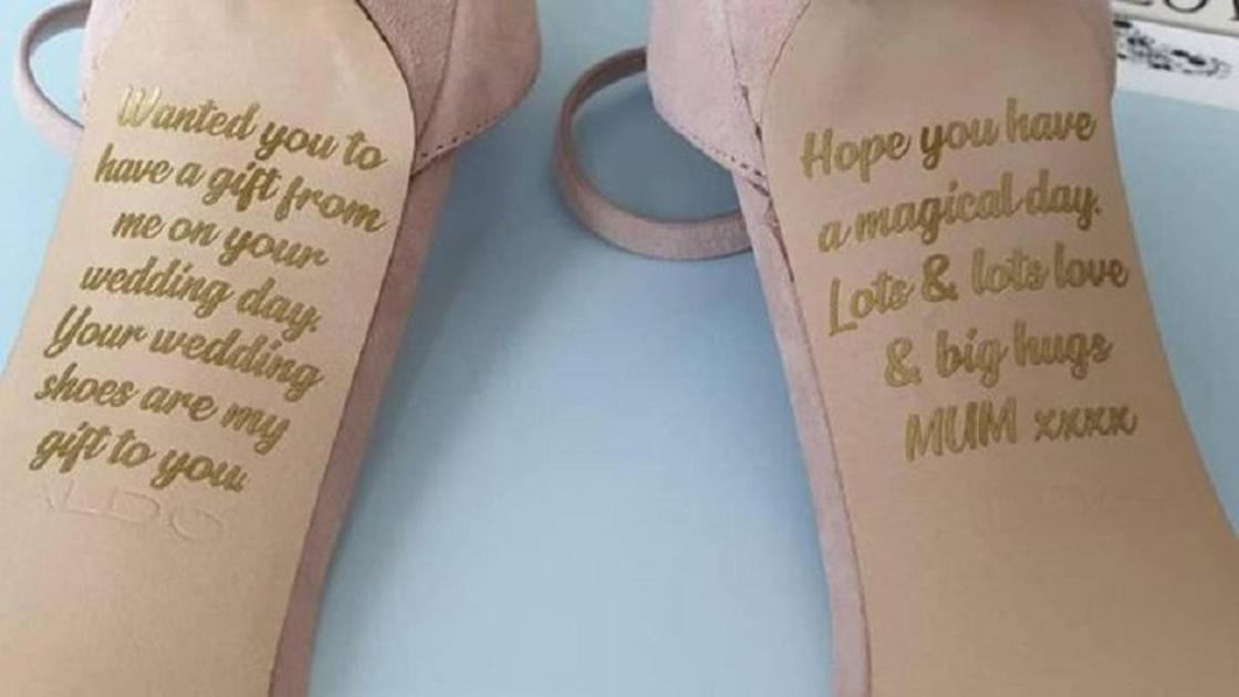 Умирающая мама спрятала послание на свадебных туфлях дочери