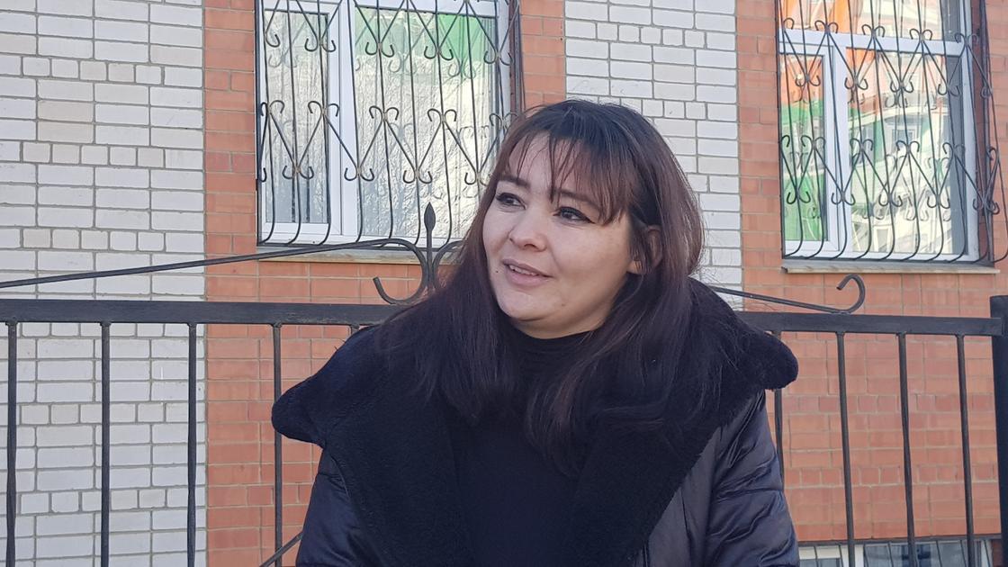 Анастасия Заглядова, 5 жасар қыздың анасы Фото: NUR.KZ