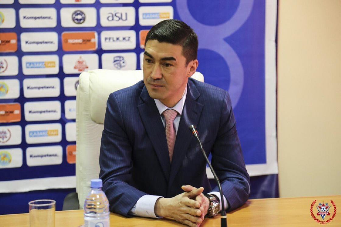 Самат Смақов. Фото: fc-aktobe.kz