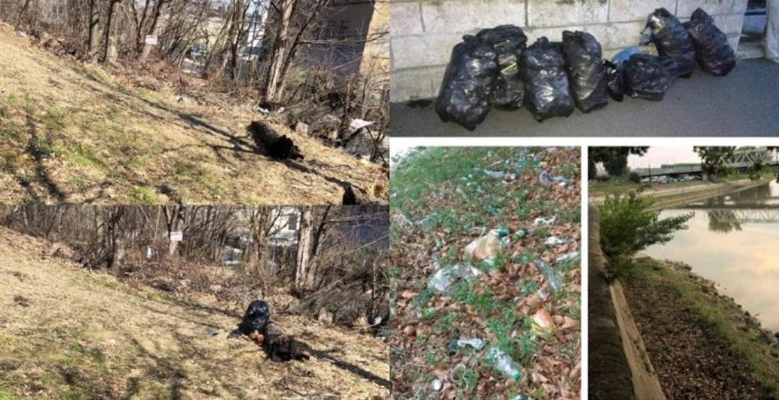 """Люди со всего мира начали убирать мусор и делиться фото """"до"""" и """"после"""""""