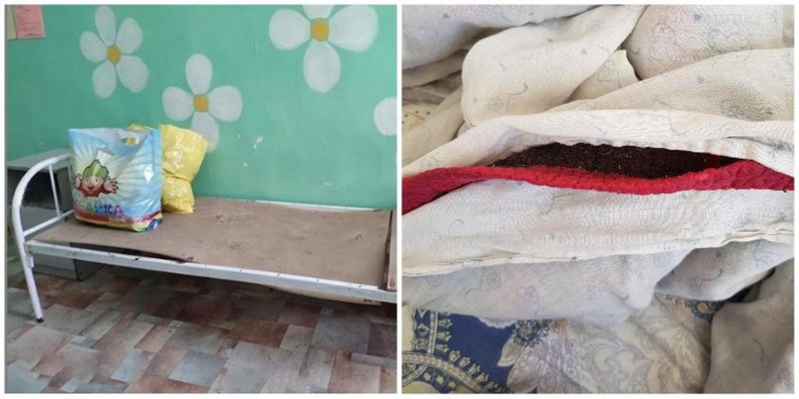 Плесень и рваная постель в детской больнице Караганды: облздрав разъяснил ситуацию