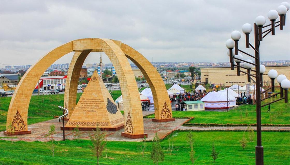 Самый большой город в Казахстане по площади и населению