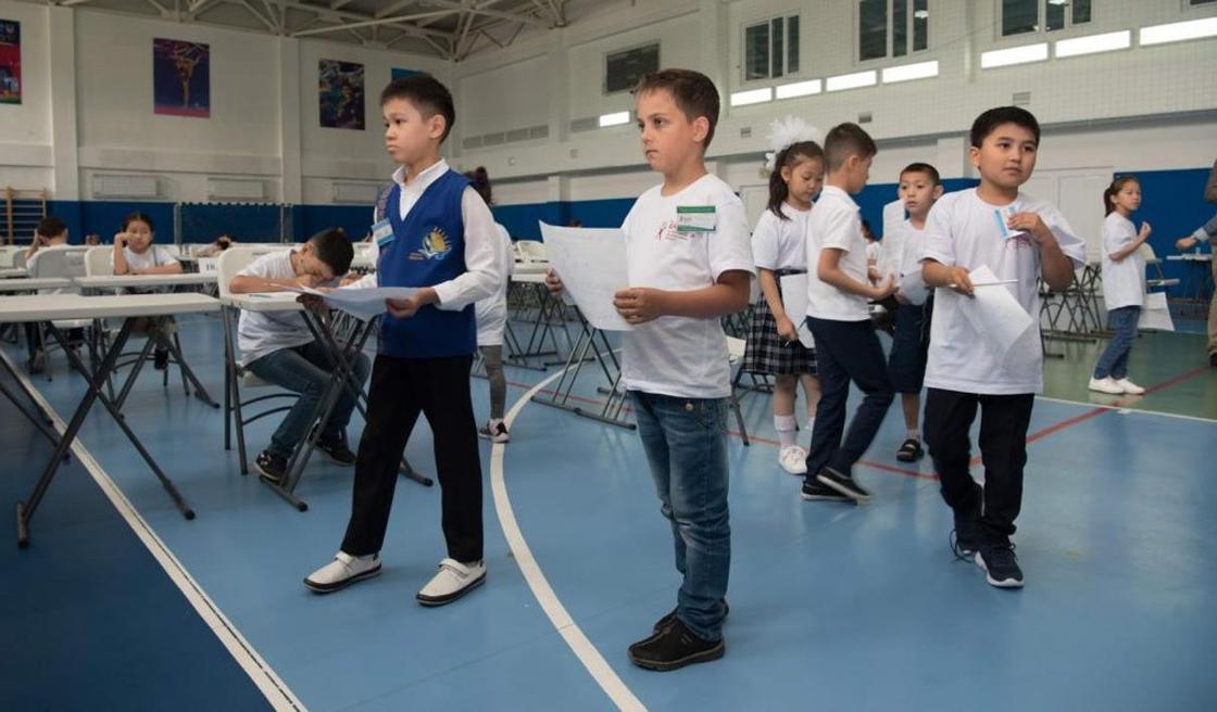 Математический турнир «Бастау» для младших школьников прошел в Алматы
