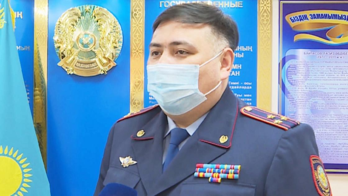 Дәуір Ыбыраев. Фото: Хабар 24