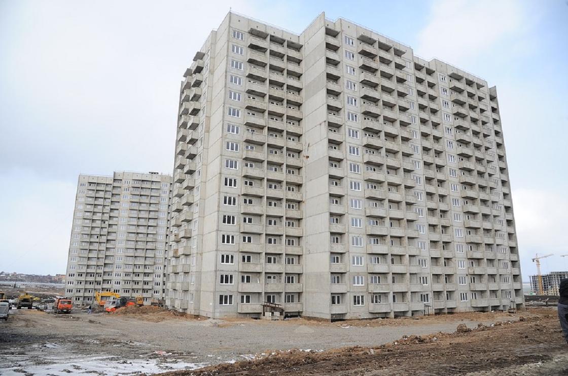 В Семее в 2020 году будет построено 18 многоквартирных жилых домов