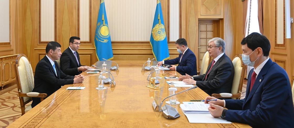Глава государства принял Генерального секретаря Всемирной таможенной организации Кунио Микурию