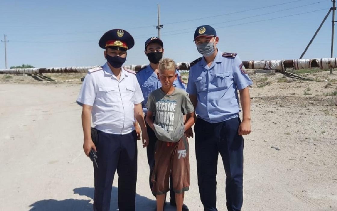 Ақтауда полицейлер үш күн бұрын жоғалған 12 жастағы баланы тапты