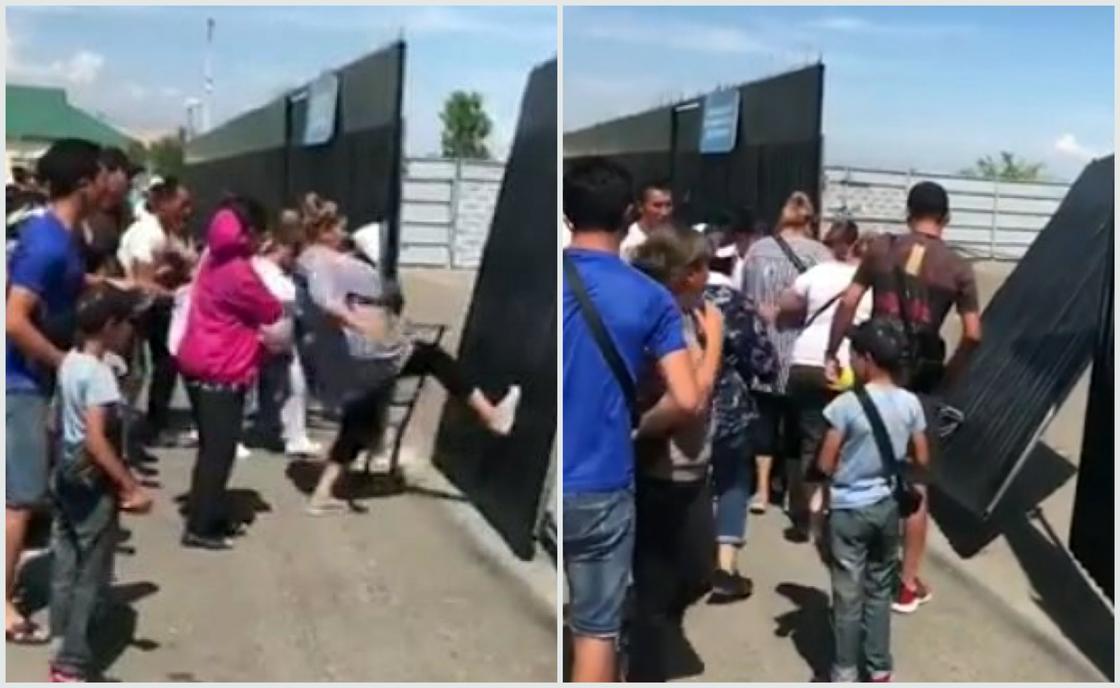 "Полиция: Склад на ""Хоргосе"" разграблен не был"