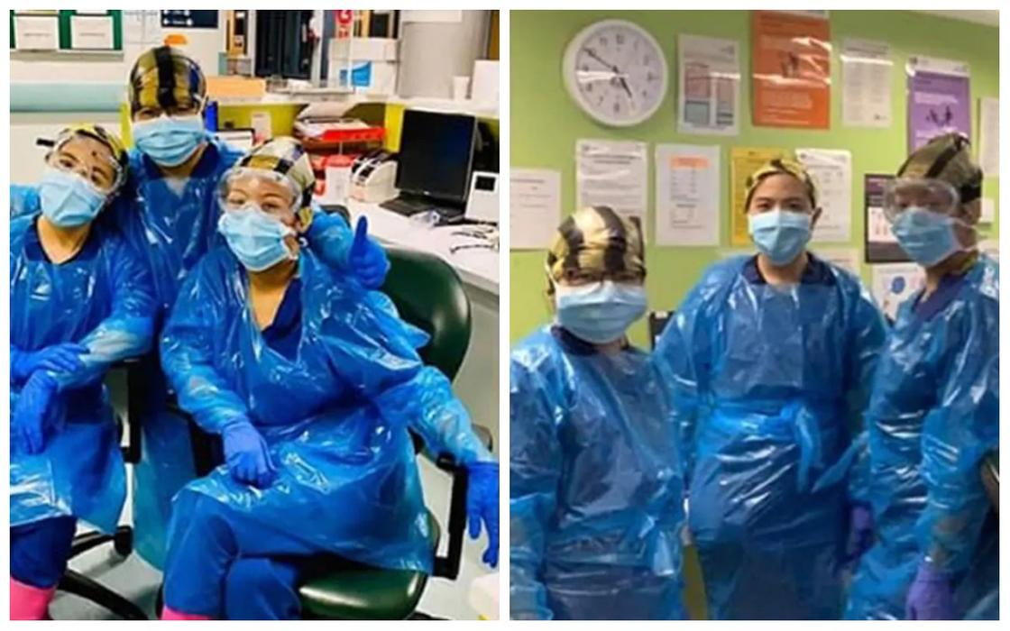 Работавшие в мусорных пакетах медсестры заразились коронавирусом