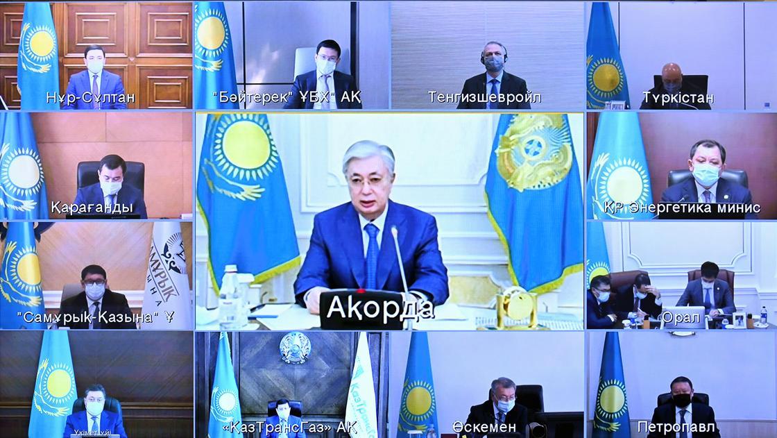 Глава государства провел совещание по развитию газовой отрасли