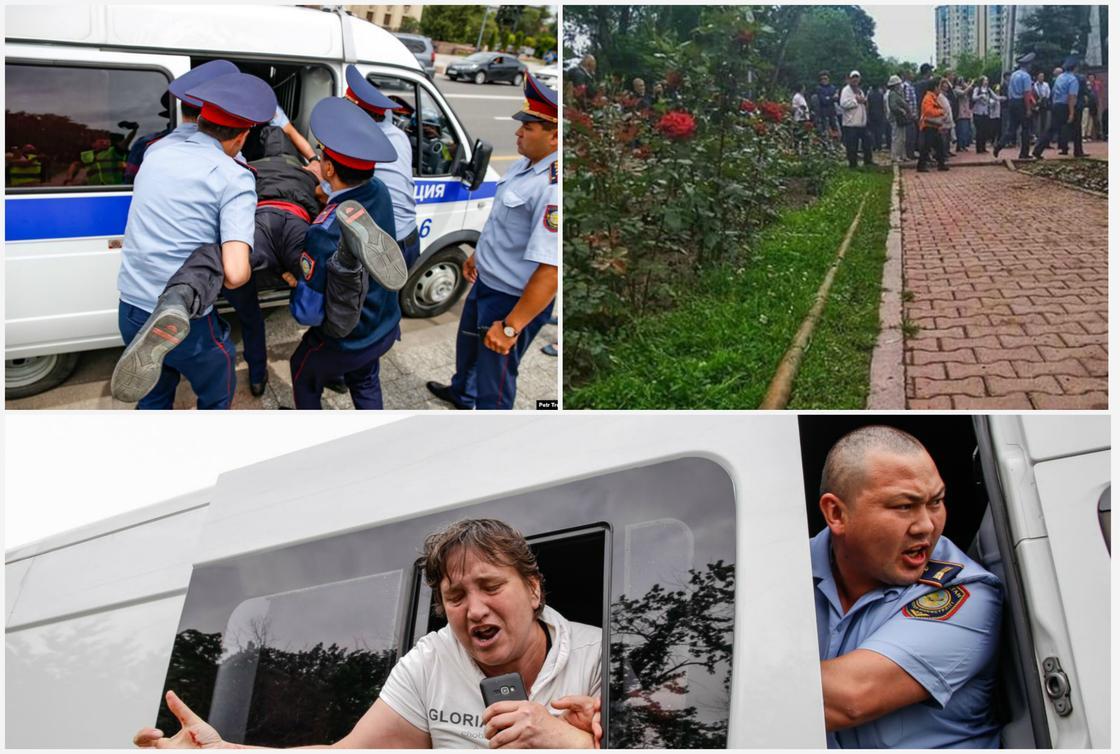 Митинги и реакция властей: что происходит в Казахстане после выборов президента