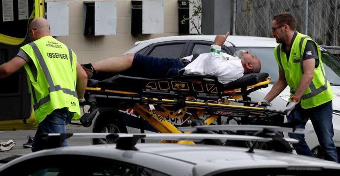 Фотография выжившего в теракте в Новой Зеландии мужчины восхитила соцсети