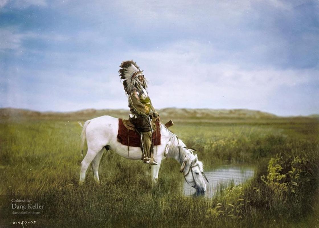 19 раскрашенных исторических фотографий