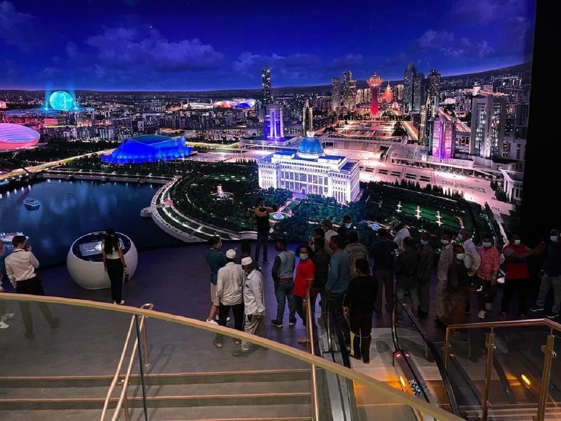 Павильон Казахстана на Экспо-2020