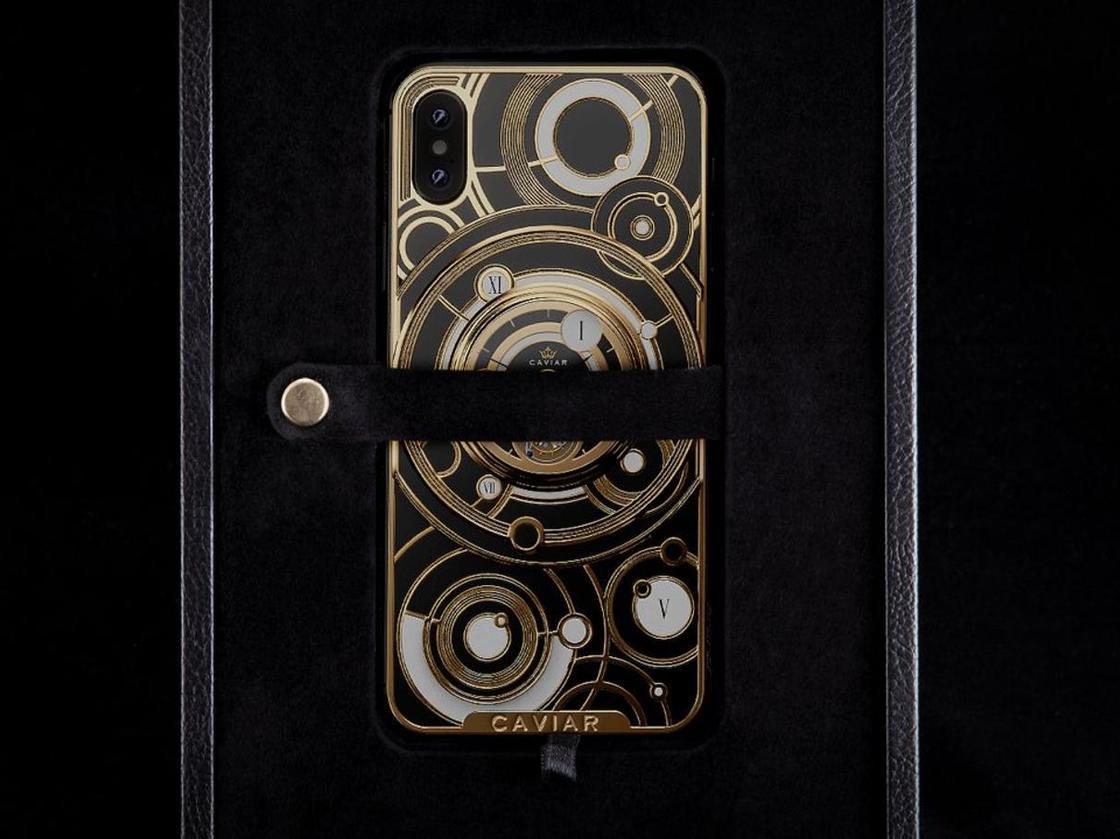 iPhone за 24 500 долларов с механическими часами