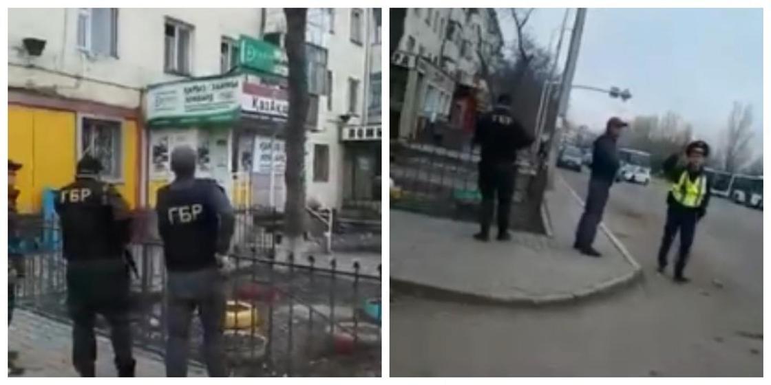 """Нұр-Сұлтандағы ломбардқа шабуыл:""""тұтқынға алу"""" туралы видеоға қатысты полиция түсініктеме берді"""