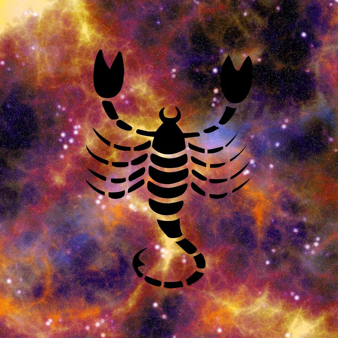 Скорпион и знак
