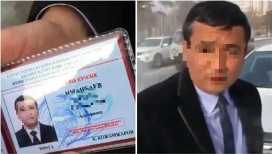 """Жалған құжат көрсеткен """"агент"""" өзін Назарбаевтың немересі ретінде таныстырған"""