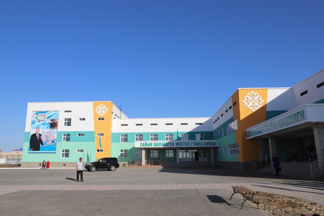 В Мангистау в 2018 году сдано 9 новых школ на 6300 мест