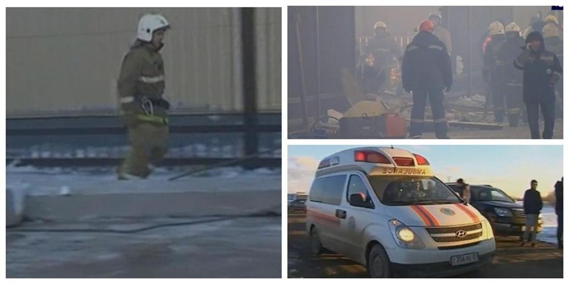 Взрыв в Астане: еще один человек может быть под завалами