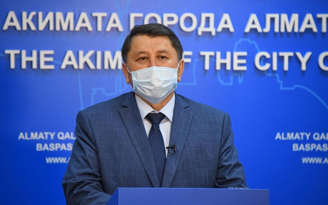 Жандарбек Бекшин. Фото: Алматы әкімдігі