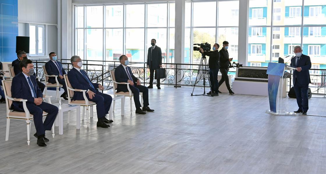 Токаеву представили инвестиционные проекты Жамбылской области