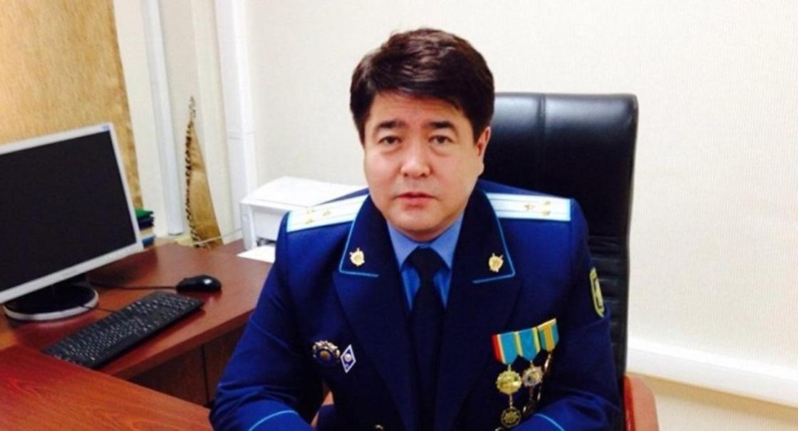 Болат Дембаев. Фото: ҚР Бас прокуратурсыаның ресми сайты