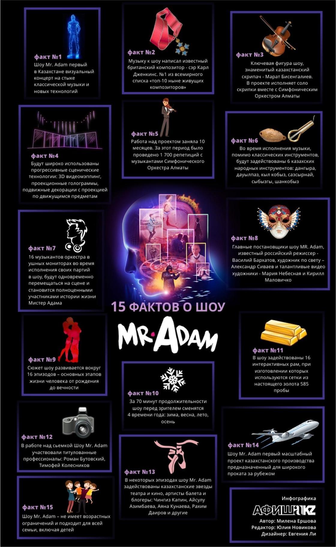 Революция классической музыки - шоу Mr. Adam