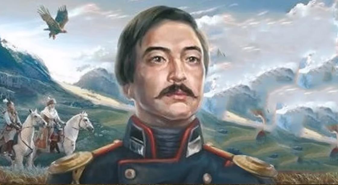 Портрет Шокана Уалиханова