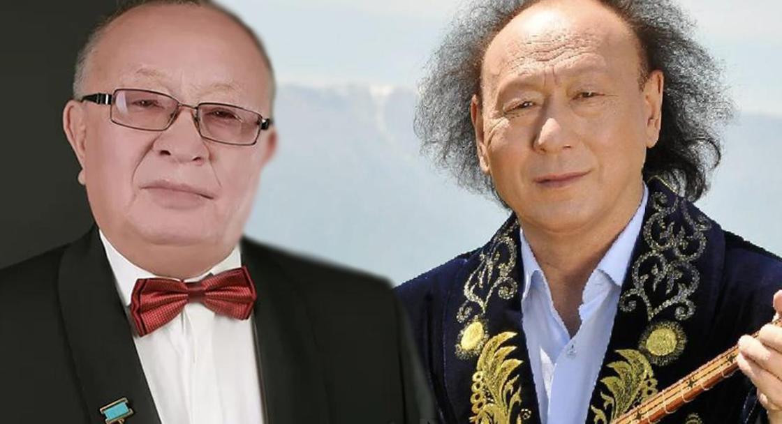 Алтынбек Қоразбаев, Мұрат Құсайынов. Фото