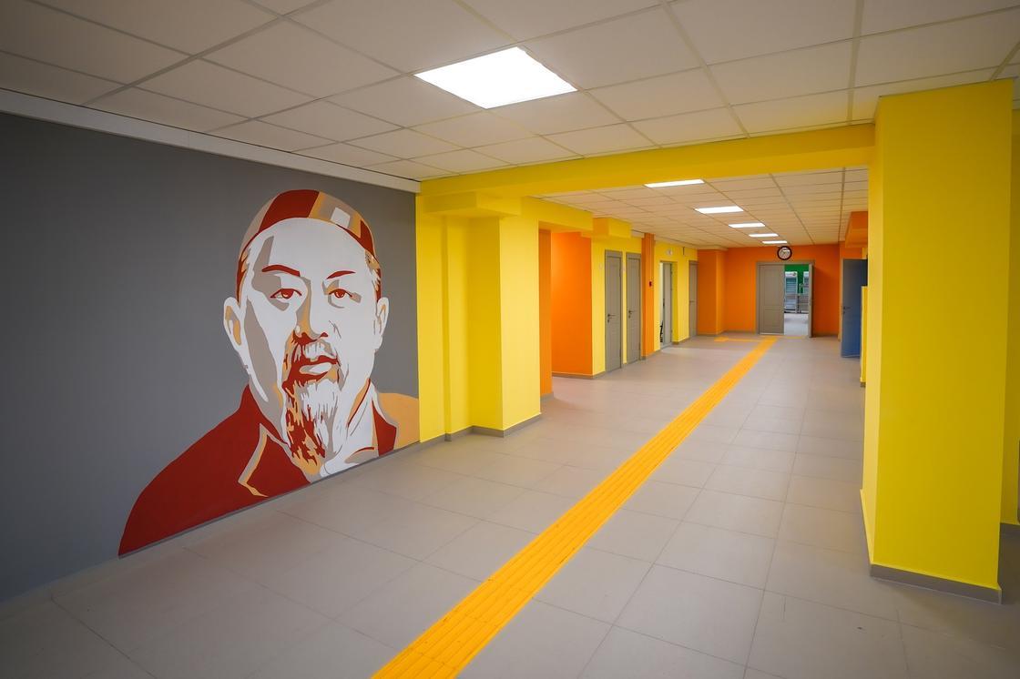 В Алматы открылся новый корпус школы №6