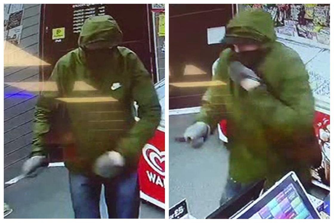 Девочка закидала хлебом вооруженного грабителя и прогнала его (видео)