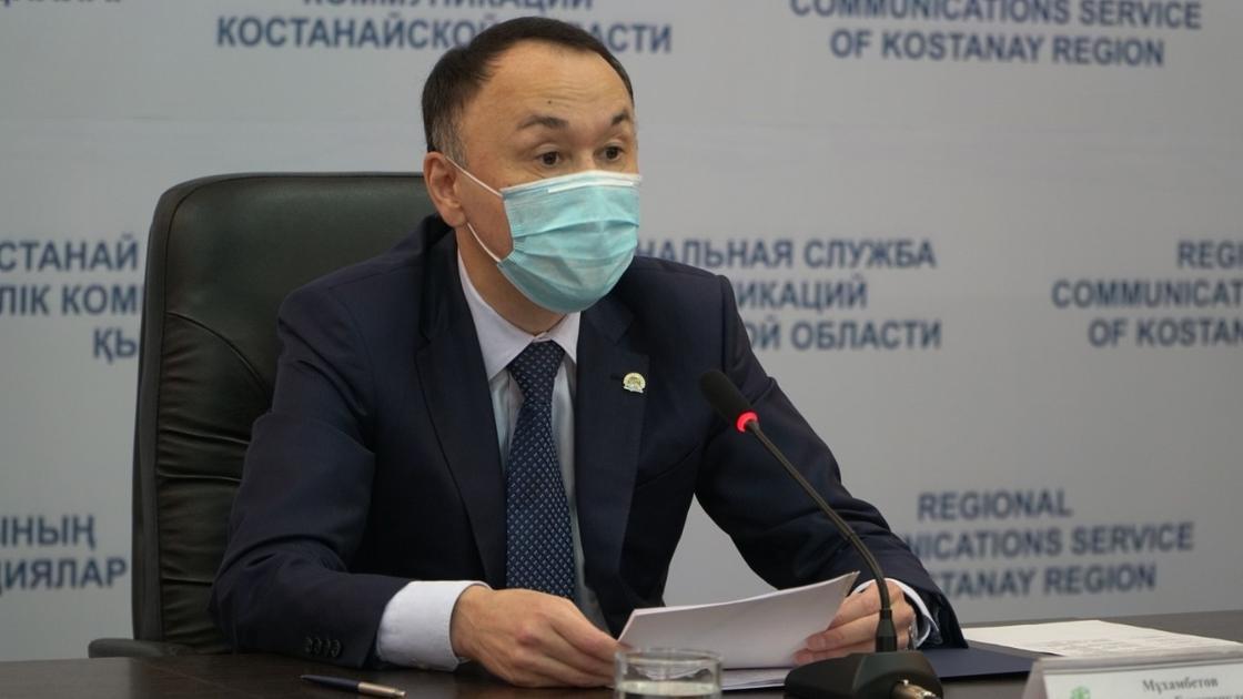 Аким Костанайской области рассказал о мерах по борьбе с коронавирусом