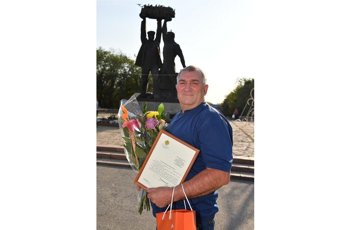 Николай Михайлович Кашляков, бригадир проходчиков шахты имени Костенко