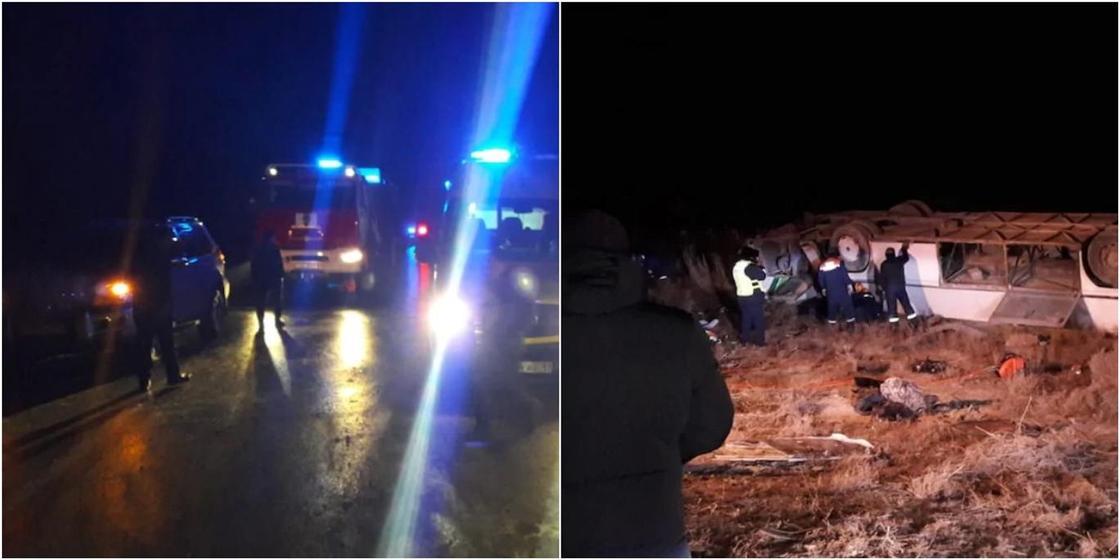 Найдено еще одно тело погибшего в жутком ДТП с автобусом в Кызылординской области