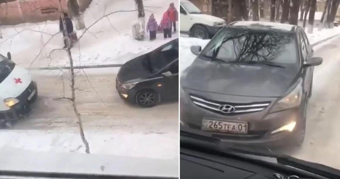 Не пропустившая скорую помощь автоледи в Темиртау оштрафована на 24 тыс. тенге