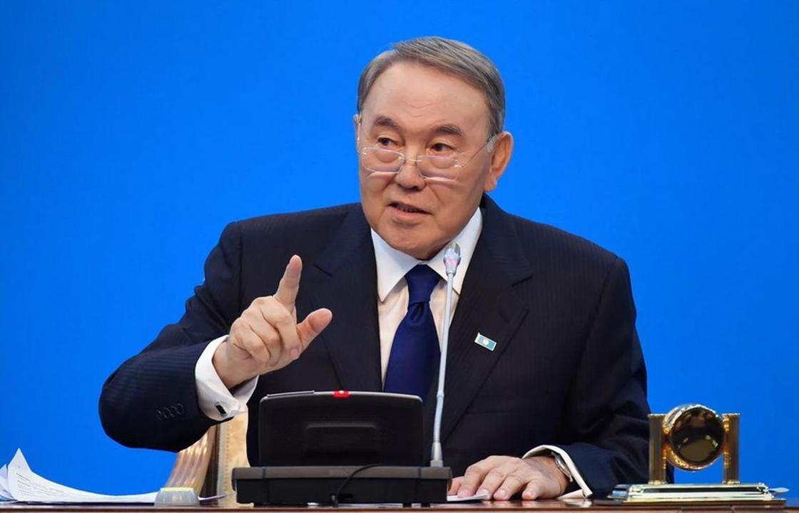 Нұрсұлтан Назарбаев. Фото: Ақорда