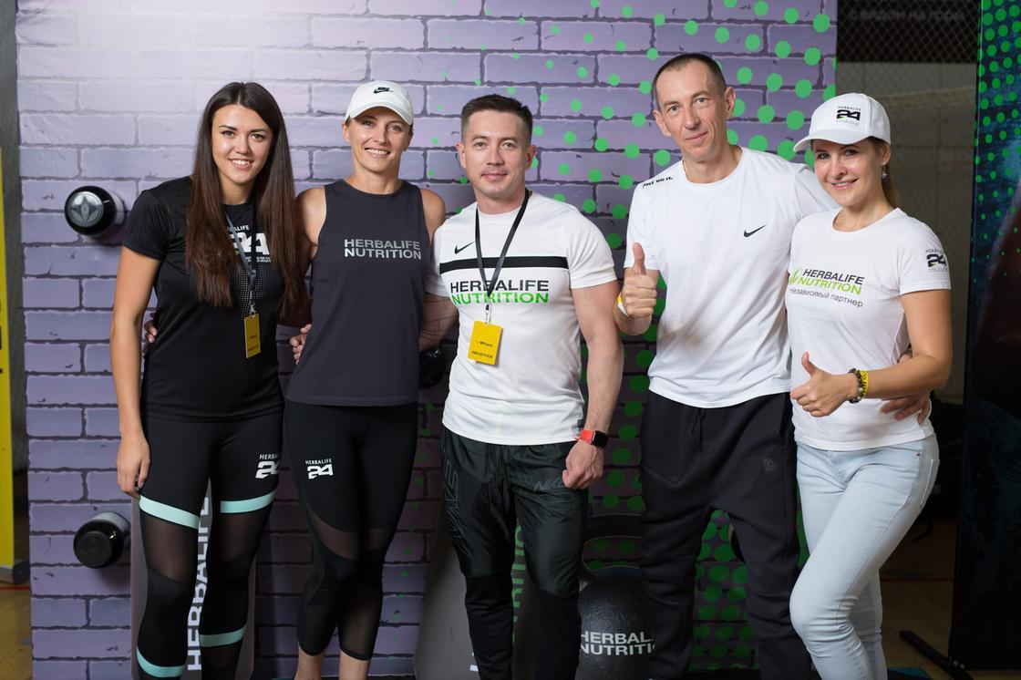 Фитнес-выходные в рамках ежегодной конвенции Nike Training Club