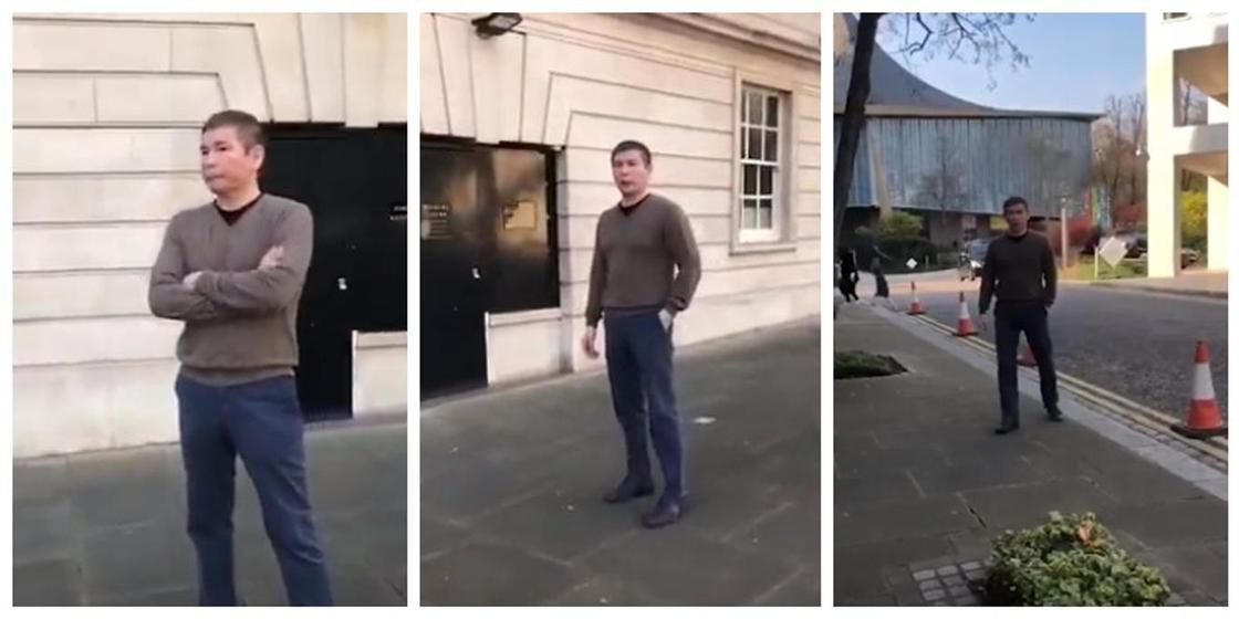 Бергей Рысқалиев Лондонда серуендеп жүр: желіде тағы бір видео жарияланды