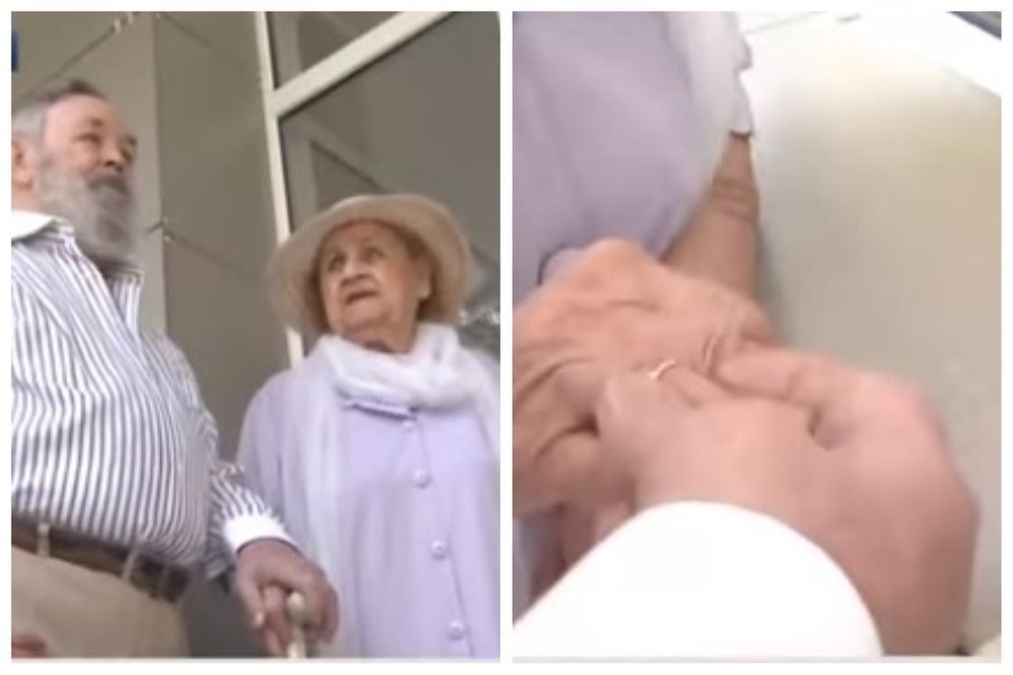 Алматыда 96 жастағы әйел мен 85 жастағы ер адам некелерін қидырды