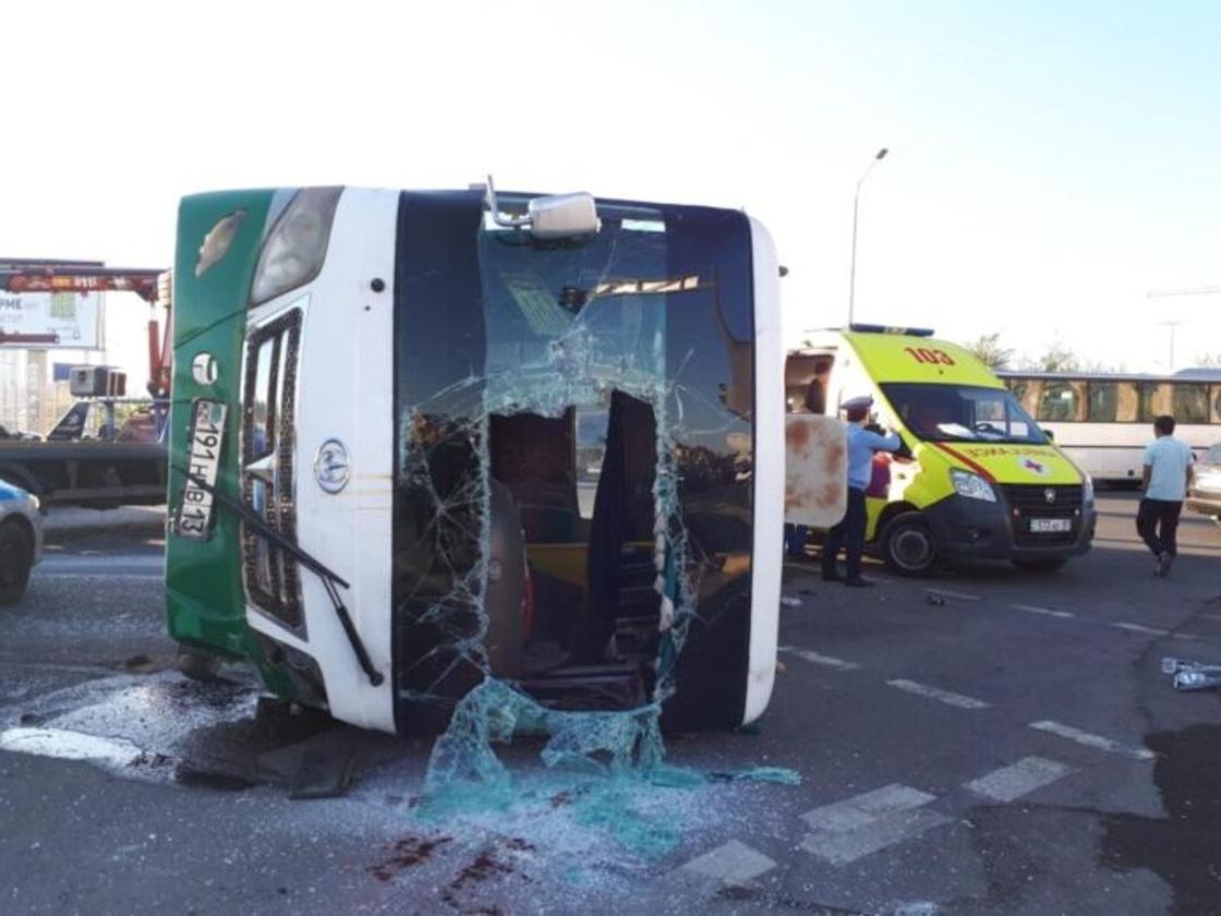 Смертельное ДТП с автобусом в Шымкенте прокомментировали полицейские